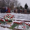 Погибших за Москву вспоминали в Люберцах сегодня