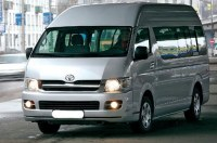 Заказ микроавтобуса с водителем (Toyota Hiace 11 пассажирских мест)