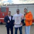 Люберецкий экстремал установил рекорд России по буксировке многотонной машины