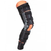 Продаю ортез для коленного сустава телескопический послеоперационный с полным контролем объема движения и шарнирами Trom standart DonJoy-7000руб.