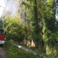 Несколько домов загорелось в Томилине Люберец