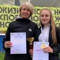 Люберчанка выиграла золотую медаль на спартакиаде молодежи по легкой атлетике