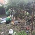 Незаконный нестационарный объект демонтировали в поселке Люберец