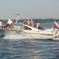 С 22 марта из Лыткарино начал плавать катер-маршрутка «Стриж»