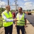 Ружицкий проверил ремонт дорог