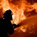 Минувшей ночью склад сгорел в Люберцах