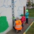 На Красной Горке прошел мастер-класс по граффити
