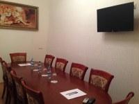 "Переговорная комната при отеле ""ЛЕВ"""