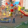 На 70% завершены работы по оборудованию детских и спортплощадок района