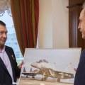 Ружицкий встретился с Героем России Михаилом Беляевым