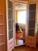 Угловой шкаф (набор мебели для девочек) модель Николь