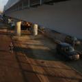 Строительство Северо-Восточной хорды: эстакада №2 заасфальтирована наполовину