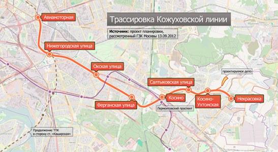 Началась отделка гранитом платформы станции метро «Некрасовка»