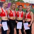 Спортсменка из Люберец стала первой в эстафете на 4 дистанциях