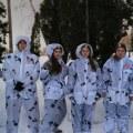 Юнармейцы из Люберец отправились в лыжный поход по следам бойцов ВОВ