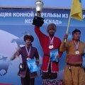Люберчанин занял третье место на соревнованиях по конной стрельбе из лука