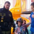 В воскресенье ребенка спасали на детской площадке в Люберцах