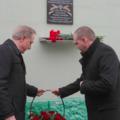 Третья мемориальная доска в память о погибших в Афгане и Чечне открылась в районе