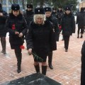 К мемориалу на территории МВД возложили цветы