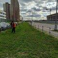Более 12 тысяч квадратных метров придорожной полосы окосили в Люберцах за неделю