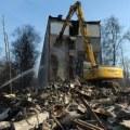 Территория для ЗАГСа: в Люберцах снесли почти вековой дом