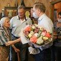 Глава Люберец поздравил жительницу горокруга с 90?летием