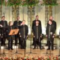 Певцы из Валаамского монастыря споют для люберчан
