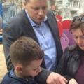 Мальчик попросил Путина о детской площадке в Люберцах