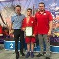Юный самбист из Люберец стал бронзовым призером первенства Подмосковья