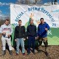 Единороссы Люберец поучаствовали в уборке городских территорий