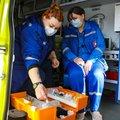 Более 30 бригад скорой помощи работают в Люберцах