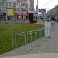 Первая велопарковка появилась в Октябрьском