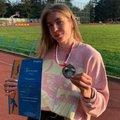 Спортсменка из Люберец стала второй на всероссийских соревнованиях по метаниям