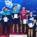 Люберчанин стал серебряным призером на турнире по настольному теннису