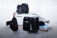 Продаю почти новую фотокамеру Canon 600d