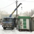 В Люберцах начали сносить киоски, работающие незаконно