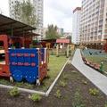 67-й по счету двор Люберец обзавелся новой спортивно-игровой площадкой