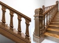 Эксклюзивные лестницы из дерева  в Московской области, в Москве,