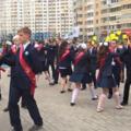 Люберецкие школьники отметили последний звонок
