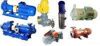 Насосы, электродвигатели промышленные из наличия для гл.энергетиков,механиков предприятий