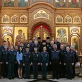 Пожарные Люберец поучаствовали в молебне, посвященном иконе «Неопалимая Купина»