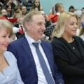 Ружицкий и Поплавская побывали в школе-интернате