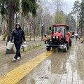 Более 16 тыс человек поучаствовали в общеобластном субботнике в Люберцах