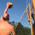 16 команд участвуют в турнире по пляжному волейболу в Люберцах